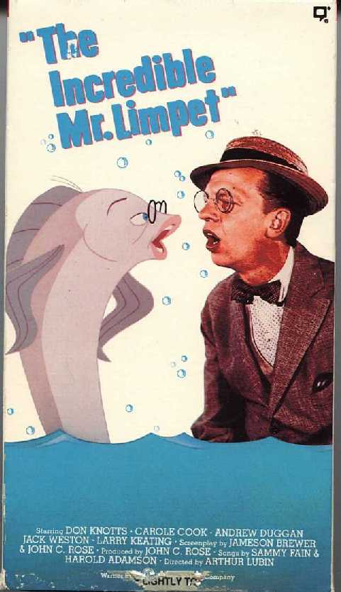 The Incredible Mister Limpet Poster