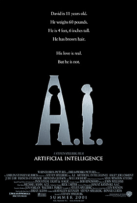 A. I. Artifical Intelligence Poster