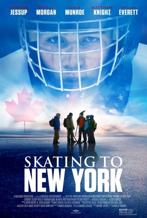 Skating to New York Poster