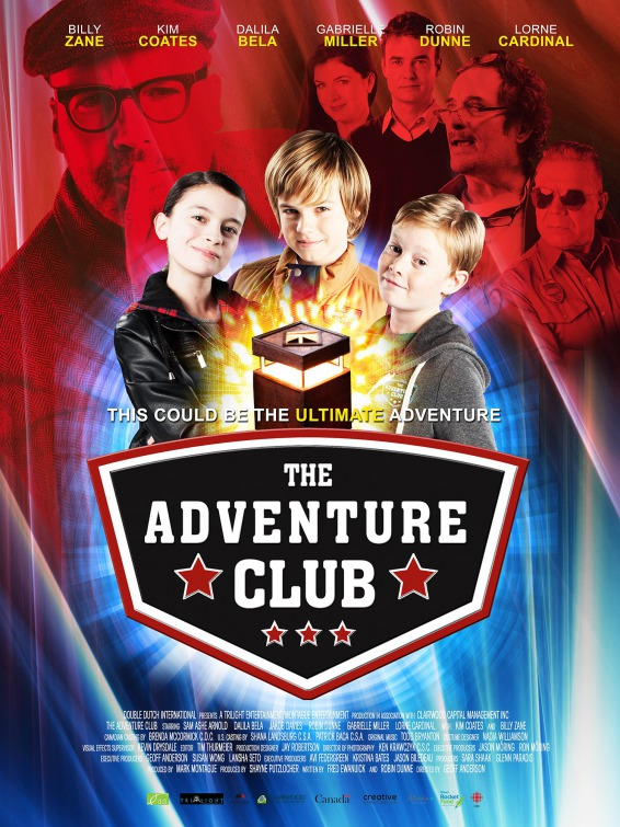 The Adventure Club Poster