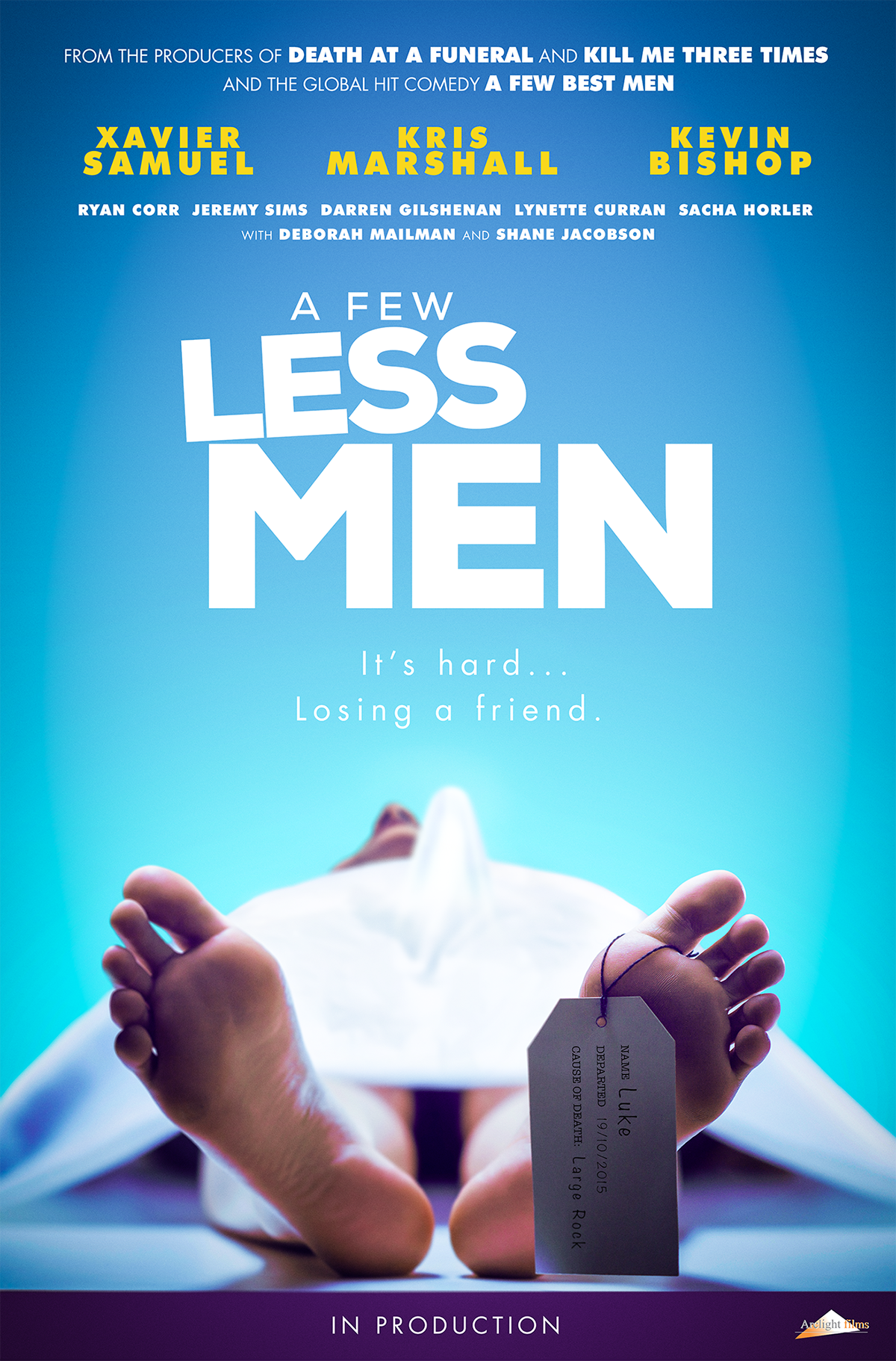 A Few Less Men Poster