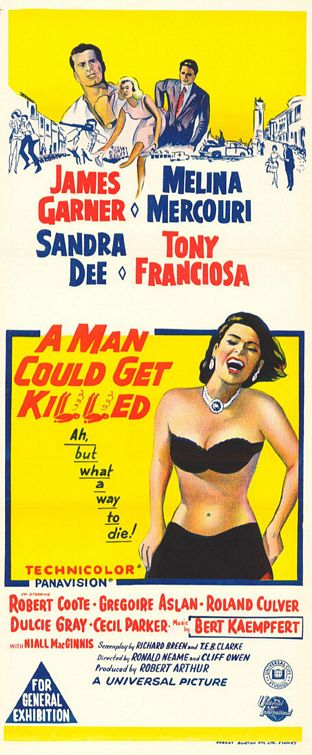 A Man Could Get Killed Poster